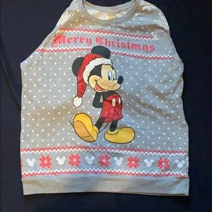 Mickey Mouse Christmas Sweater!